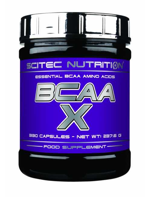 Scitec Nutrition BCAA-X, 330 Kapseln Dose