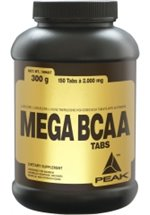 Peak Performance Mega BCAA, 150 Tabletten
