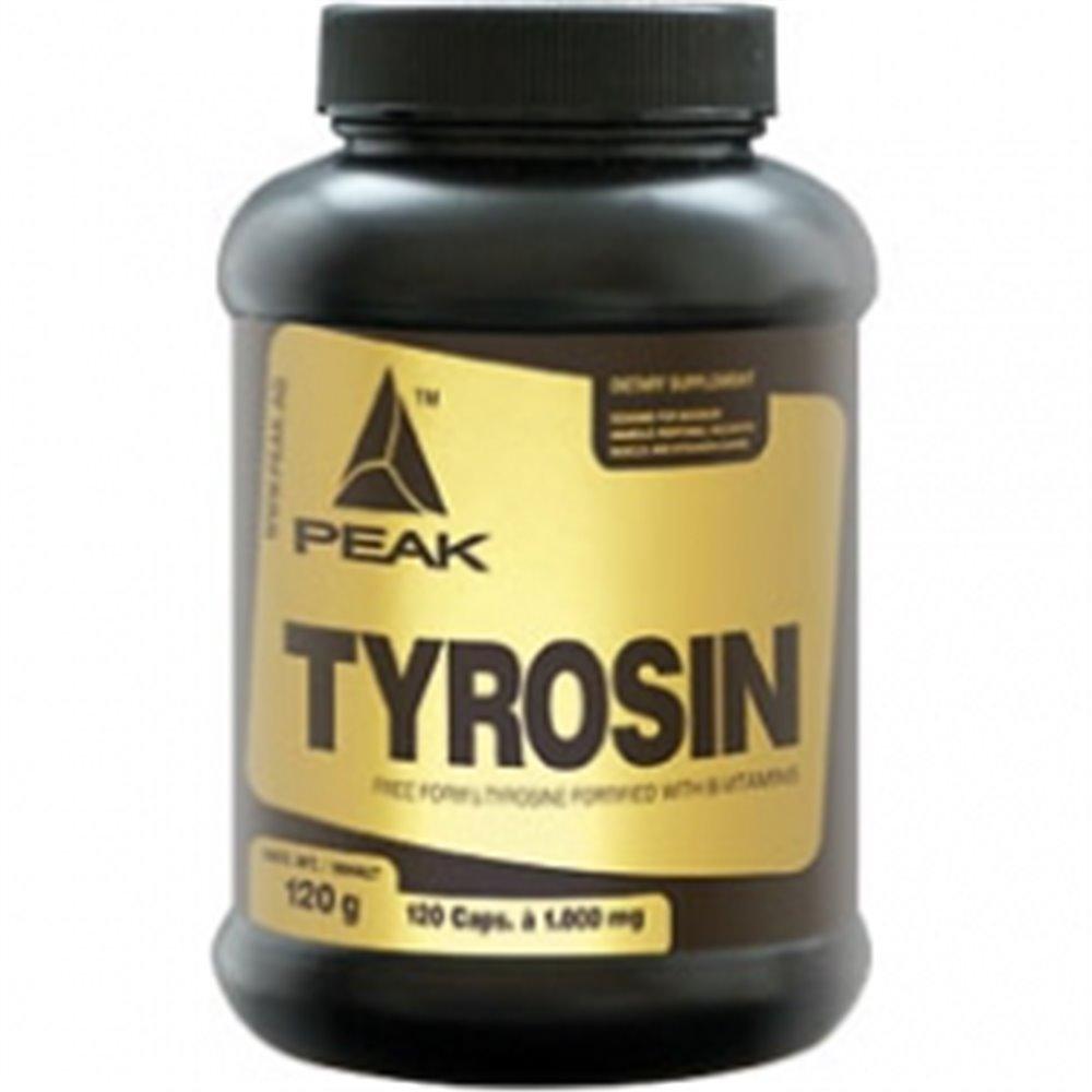 Peak Performance Tyrosin, 120 Kapseln Dose