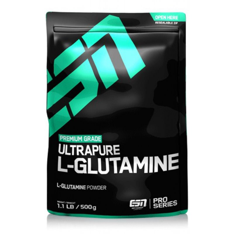 ESN Ultra Pure L-Glutamine, 500 g Dose