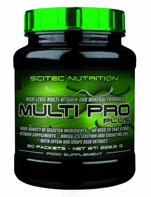 Scitec Nutrition Multi Pro Plus, 30 Pakete a 6 Kapseln
