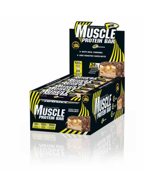 All Stars Muscle Protein Bar, 24 Riegel á 80 g
