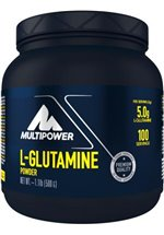Multipower L-Glutamine Powder, 500 g Dose
