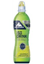 Multipower Iso Drink, 12 x 500 ml Flaschen (Pfandartikel), Grapefruit Lime