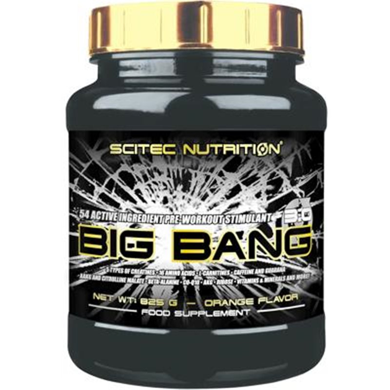 Scitec Nutrition Big Bang 3.0, 825 g Dose