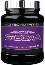 Scitec Nutrition G-BCAA, 250 Kapseln Dose