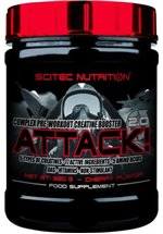 Scitec Nutrition Attack! 2.0, 320 g Dose