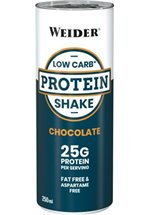 Joe Weider Low Carb Protein Shake, 24 x 250 ml Dosen