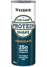 Joe Weider Low Carb Protein Shake, 24 x 250 ml Dosen
