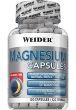 Joe Weider Magnesium Caps, 120 Kapseln Dose
