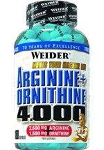 Joe Weider Arginine + Ornithine 4000, 180 Kapseln Dose