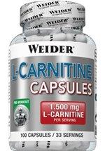 Joe Weider L-Carnitine, 100 Kapseln Dose