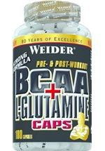 Joe Weider BCAA + L-Glutamine Caps, 180 Kapseln Dose