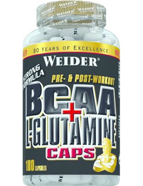 Joe Weider BCAA + L-Glutamine Caps