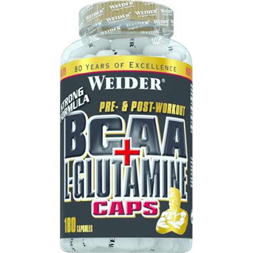 Joe Weider BCAA + L-Glutamine Caps