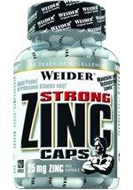 Joe Weider Strong Zink Caps, 120 Kapseln Dose