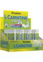 Joe Weider L-Carnitine Liquid, 20 x 25 ml Ampullen