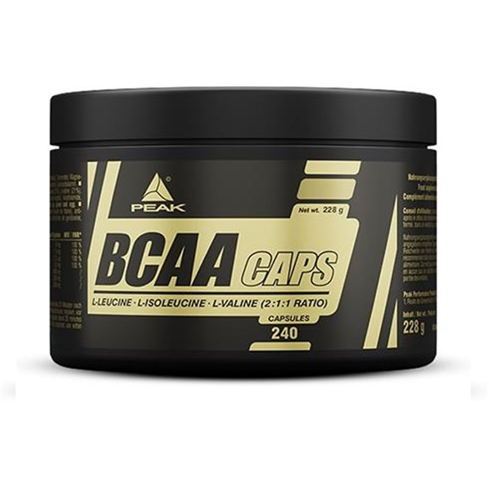 Peak Performance BCAA Caps