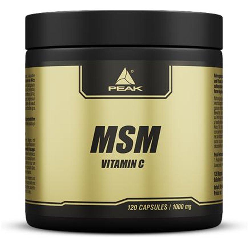 Peak Perfomance MSM mit Vitamin C
