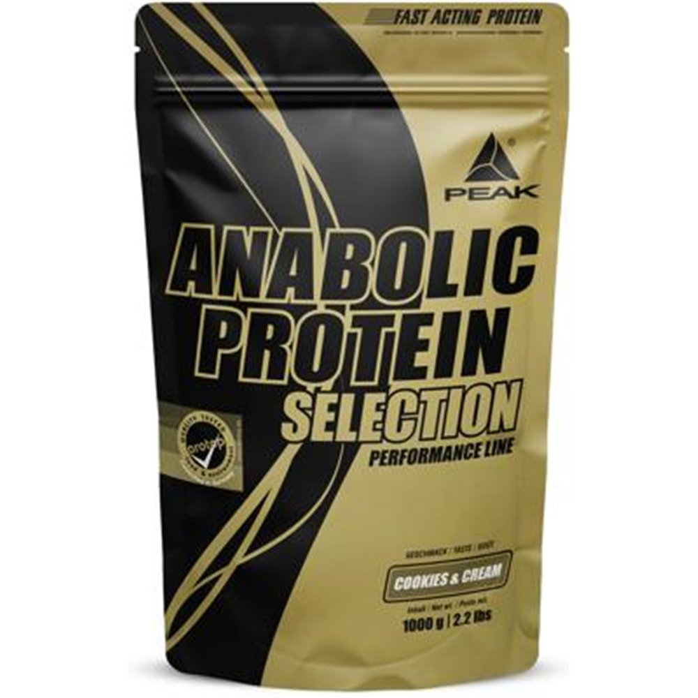 Peak Performance Anabolic Protein Selection