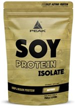 Peak Performance Soja Protein Isolat, 750 g Beutel