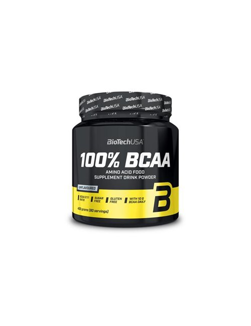 BioTech USA 100 % BCAA Pulver