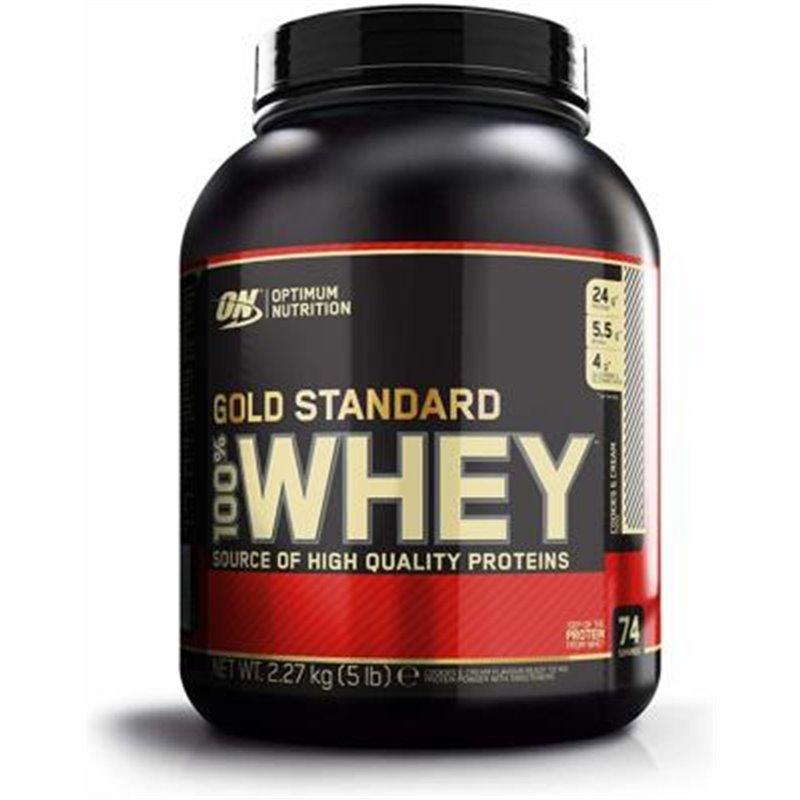 Optimum Nutrition 100% Whey Gold Standard, 5 lb Dose