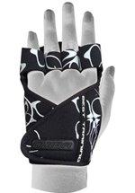 Chiba Lady Motivation Glove, Schwarz/Weiß/Schwarz