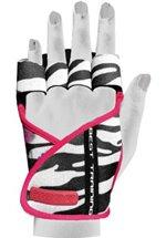 Chiba Lady Motivation Glove, Schwarz/Weiß/Pink
