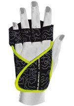Chiba Lady Motivation Glove, Schwarz/Grau/Neongelb