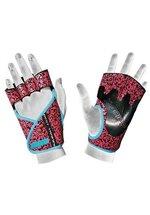 Chiba Lady Motivation Glove, Schwarz/Pink/Türkis