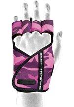 Chiba Lady Motivation Glove, Pink/Tarnfarben/Schwarz
