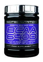Scitec Nutrition BCAA 6400, 125 Tabletten Dose
