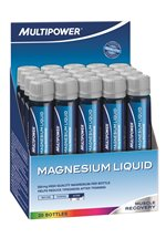 Multipower Magnesium Liquid, 20 Fläschchen á 25 ml