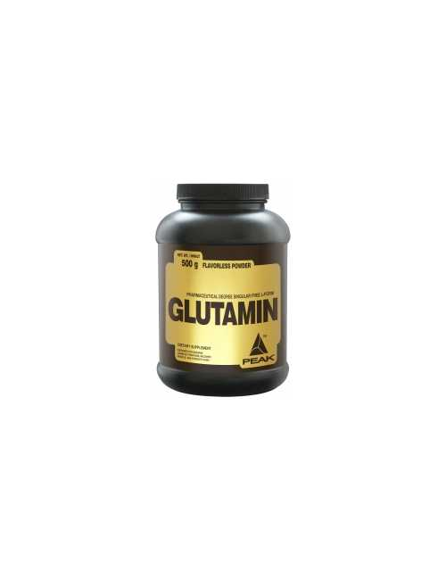 Peak Performance Glutamin, 500 g Dose