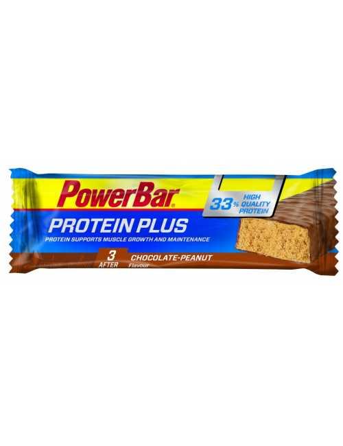 PowerBar Protein Plus 33% Protein Bar, 10 Riegel á 90 g