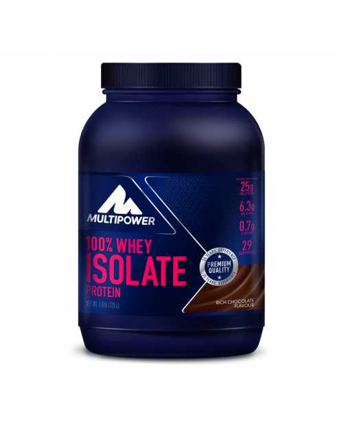 Multipower 100% Whey Isolate, 725 g Dose