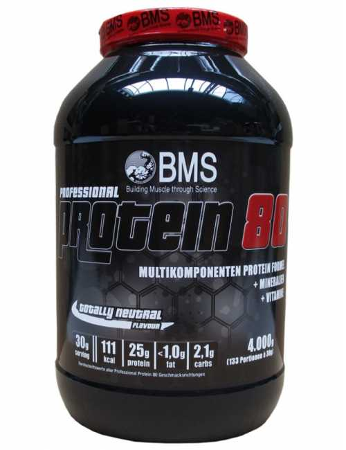 BMS Professional Protein 80, 4000 g Dose